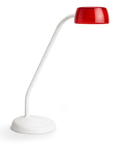 Philips myLiving 7200832163.6W LED rot, weiß Tischleuchte