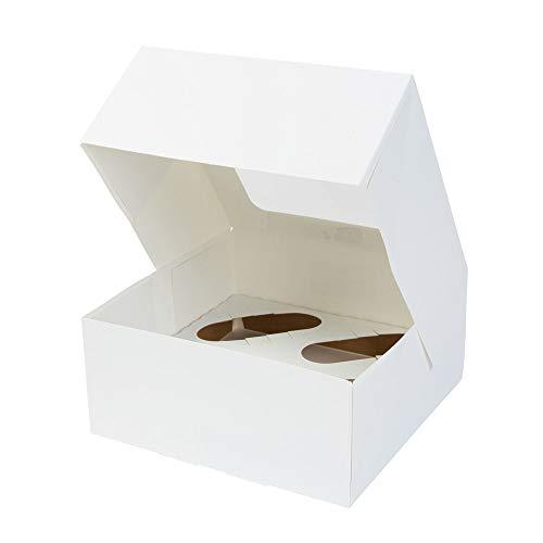 25 cajas para repostería (magdalenas, cupcakes, pastas....)