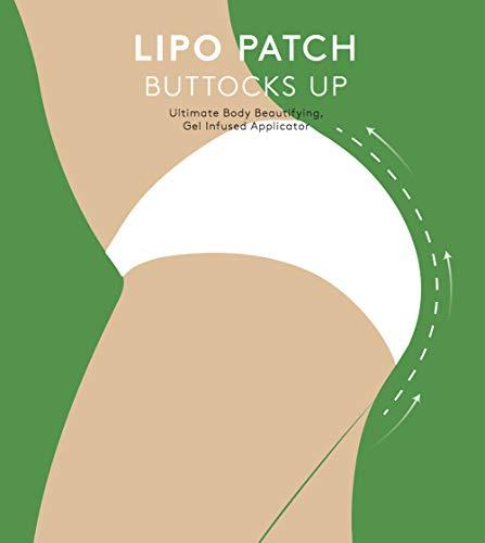 DEFINITIVO nalgas WRAPS, 4 pares (8 parches), envolturas corporales de adelgazamiento de contorno aplicadores para la Mejora de nalgas, solución anti celulitis