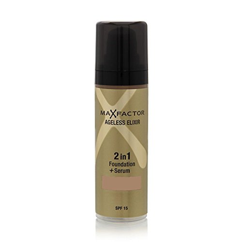 MaXFactor - Ageless Elixir 2 in 1 Foundation + Serum rose beige 65 SPF 15 Women 30ml