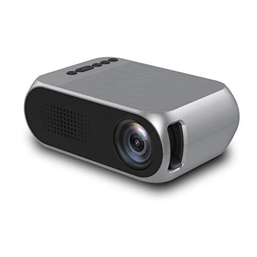 JICHUIO YG320 Proyector LED portátil de Alta definición 1080P Mini proyector de...