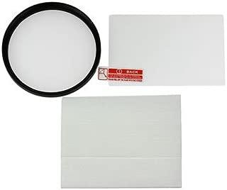 【強化ガラスフィルム+レンズ保護フィルター62mm】FUJIFILM X-T2 フジノンレンズ XF56mmF1.2 R (APD)用 互換マルチコートUVレンズ保護フィルター 62mmと強化ガラスフィルムの2点セット