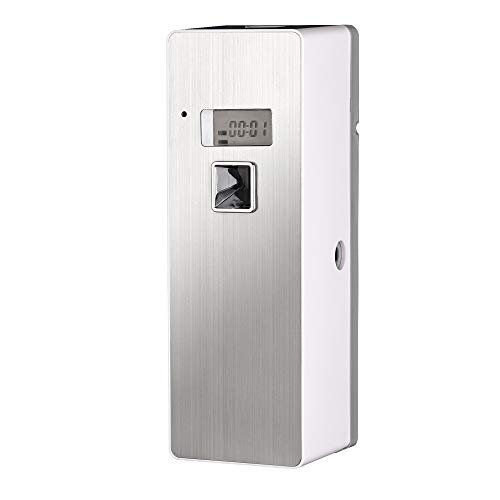 Fyng Free Standing Wall-Mounted Home Commercial indoor Programmable Odor Neutralizing Automatic Air Freshener Fragrance Aerosol Spray Dispenser (LCS)