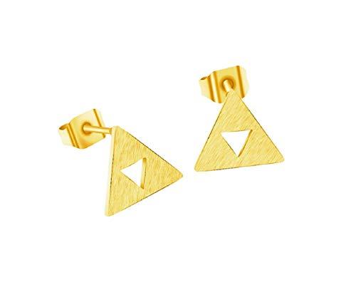 pretty.lovable.mishmash The Legend of Zelda Style Triforce Stud Earrings