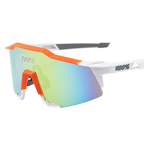 Meigold Gafas de Ciclismo al Aire Libre Bicicleta de montaña Gafas Deportivas Gafas de Sol Gafas Unisex protección 100% protección UV UVA