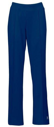 Mizuno pour Femme Nine Collection Regular Pantalon de préchauffage, Femme, Bleu Marine