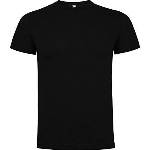 Camisetas Gaysper color negro manga corta (negro, xl)