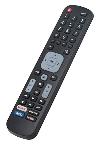 EN2A27ST Replaced Remote fit for Sharp Smart TV LC-40P5000 LC-40P5000U LC-43P5000 LC-43P5000U LC-50P5000 LC-50P5000U LC-55P5000 LC-55P5000U LC-55P6000 LC-55P6000U LC-60P6000 LC-60P6000U