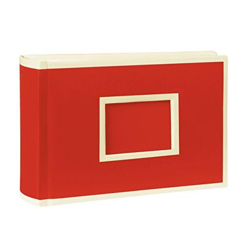Semikolon (356044) Landscape 100 Pocket Album red (rot) - Foto-Buch mit Einschubtaschen für insgesamt 100 Bilder im Format 15 x 10 cm
