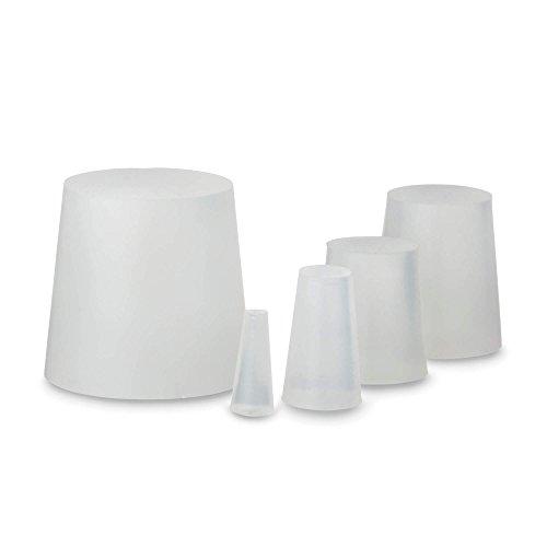 10x tapones de silicona, tapones cónicos, tapones, cubiertas, tapas de goma, 20 x Ø12 x 8 mm