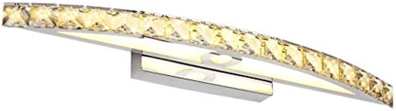 Mirror Lamps Home Edelstahl-Spiegelfrontleuchte (Farbe   Weiß Light-44cm)