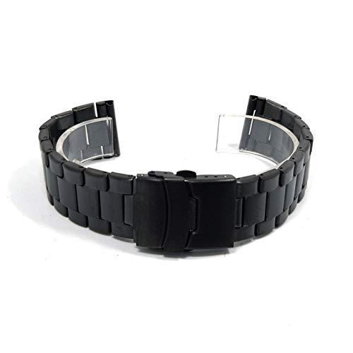 ZXF Correa Reloj, Banda de Acero Inoxidable de 20 mm de 22...