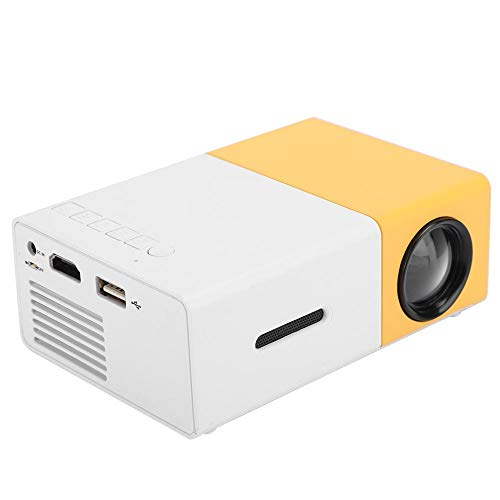 Mini Video Projector, 320 x 420 800: 1 Portable Home Theater Projector, High Definition Manual Multimedia Player Projector, 1920x1280 Multifunctional Mini Pocket Projector, Best Gift