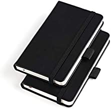 (2 Pack) Pocket Notebook Small Hardcover Note Book 3