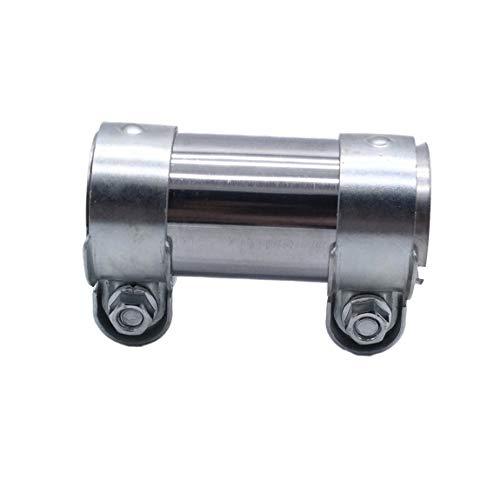 SeniorMar-UK Auspuffklemme Universalanschluss 50mmx125mm 191253141B Auspuffrohrklemme Schwarz SI-AT11236 Ersatz