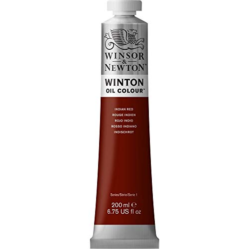 Winsor & Newton Winton Oil Color Paint, 200-ml Tube, Indian Red