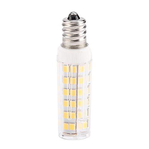 Bewinner Bombilla LED RY76X de 5 vatios, Bombillas de bajo Consumo para refrigerador, Bombilla para Campana extractora de Cocina Regulable, Bombillas de cerámica de maíz - Ahorro de energía(E14 B)
