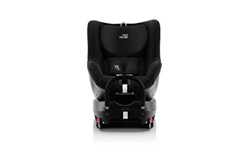 Britax Römer Silla de coche Nacimiento - 18kg | DUaFIX2 R | Isofix Grupo 0+/1 | Cosmos Black