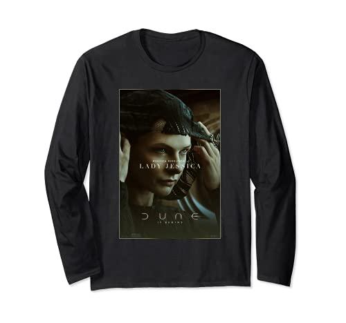 レディ・ジェシカ(レベッカ・ファーガソン) - デューン(2021) 長袖Tシャツ