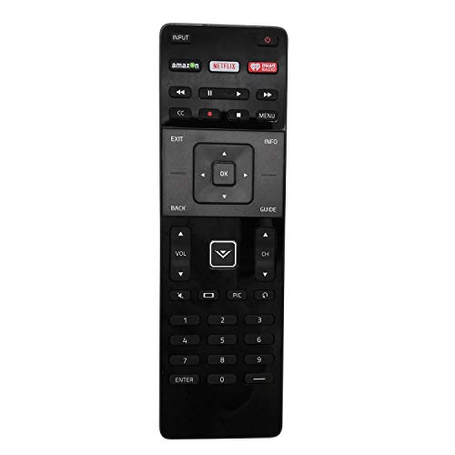 New Remote XRT122 for Vizio LCD LED TV E32HC1 E40-C2 E40C2 E40X-C2 E40XC2 E43-C2 E43C2 E48-C2 E48C2 E50-C1 E50C1 E55-C1 E55C1 E55-C2 E55C2 E60-C3 E60C3 E65-C3 E65C3 E65X-C2 E65XC2 E70-C3 (Renewed)