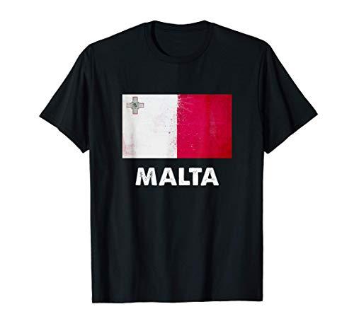 Malta Flagge Trikot | Maltesisch T-Shirt