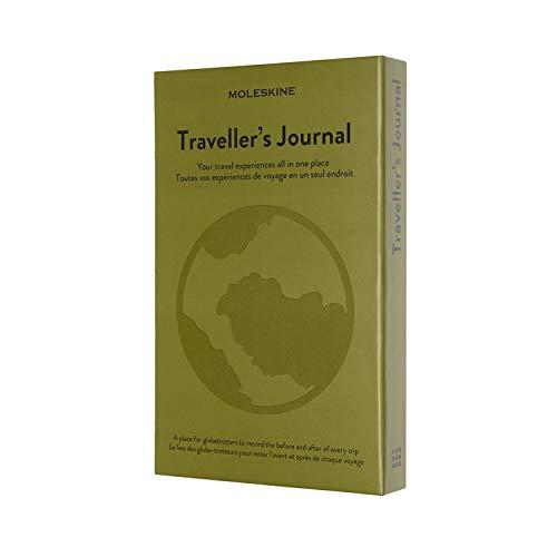 Moleskine Travel Journal, Notebook a Tema - Taccuino con Copertina Rigida per Organizzare e Ricordare i Tuoi Viaggi - Dimensione Large 13 x 21 cm, 400 Pagine