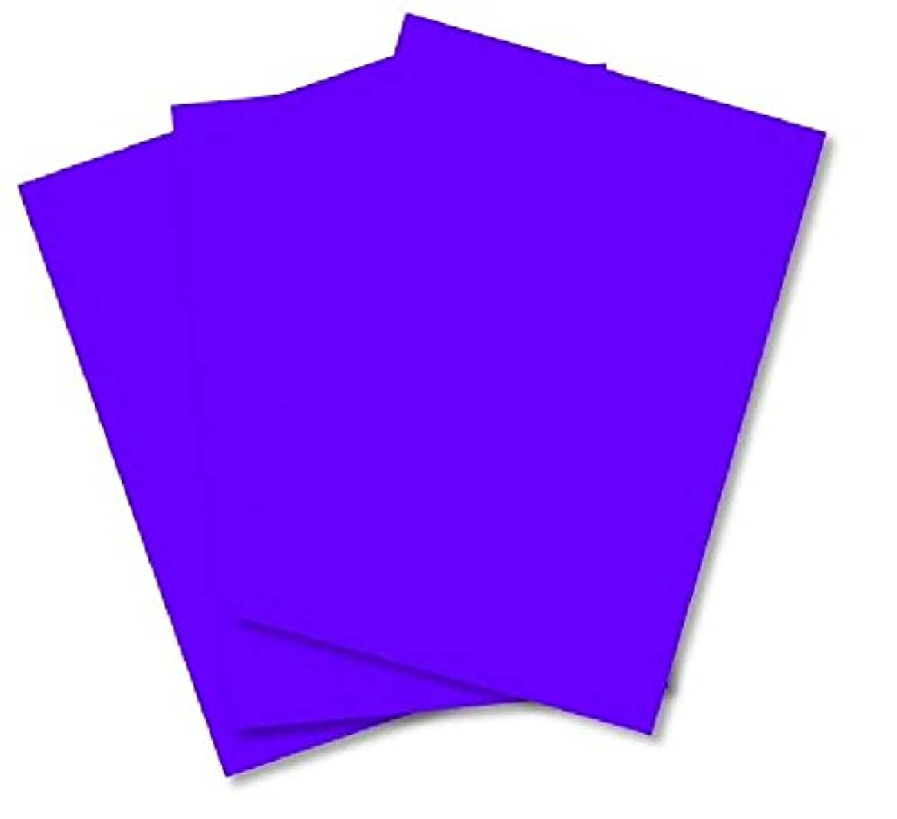 House of Card & Paper A4 210 x 297 mm 80 GSM Smooth Calendared Paper - Purple (Pack of 100 Sheets)