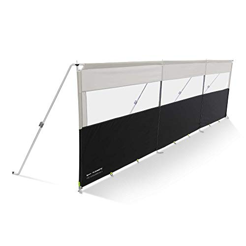 Kampa Pro Deluxe Windbreak 3 Panel (Alloy Frame) NEW FOR 2018