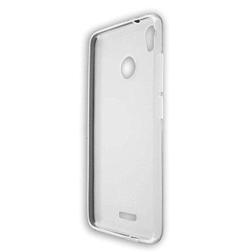 caseroxx Hülle für das Gigaset GS270, Taschen in verschiedenen Varianten (Flipcase, TPU-Bumper & Bookstyle) & (TPU-Hülle, weiß-transparent)