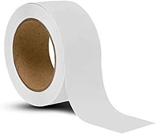 APT, (White, 2'' Width, 36 Yds Length), Floor Tape,PVC Marking Tape, Premium Vinyl Safety Marking, Dance Floor Splicing Tape, and Caution Tape, 6 mil Thick. (Multiple Color)