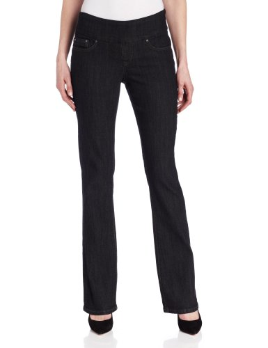 Hot Sale Jag Jeans Women's Paley Boot Jean, Black Rinse, 10