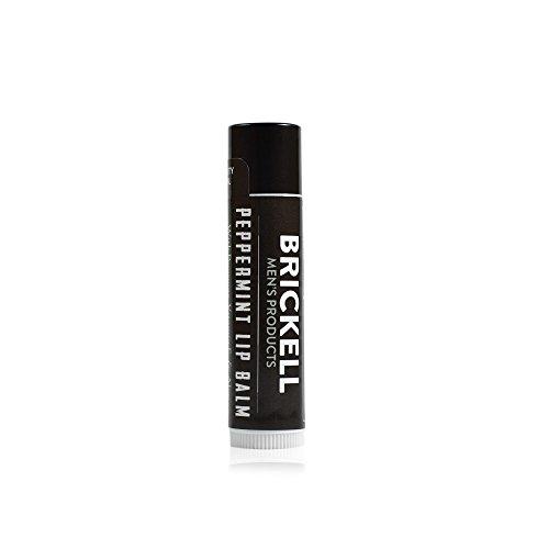 Brickell Men's Lippenbalsam für Männer ohne Glanz - .15 oz - Natürlich und Organisch