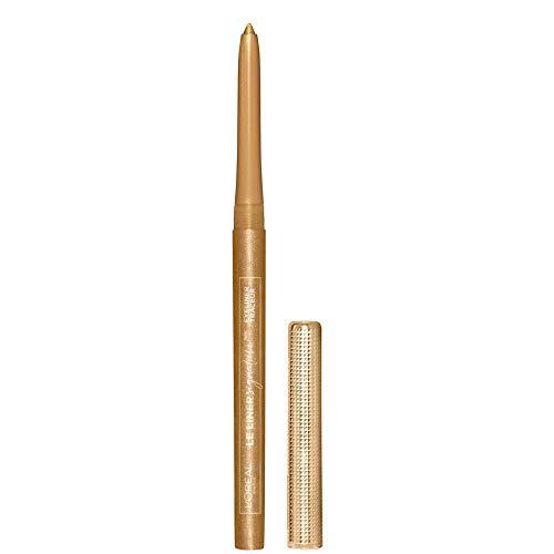 L'Oreal Paris Makeup Le Liner Signature Mechanical Eyeliner, Easy-Glide, Smudge Resistant, Bold Color, Long Lasting, Waterproof Eyeliner, Gold Velvet, 0.011 oz., 1 count