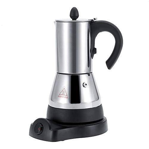 Cafetière Pratique, cafetière électrique percolateur à café, pour Un Usage Domestique (200 ML)