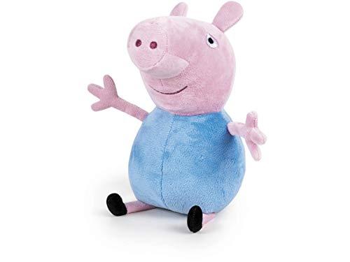 Peppa Pig- Peluche Peppa y George 20 cm sdos. (Famosa 760011861)