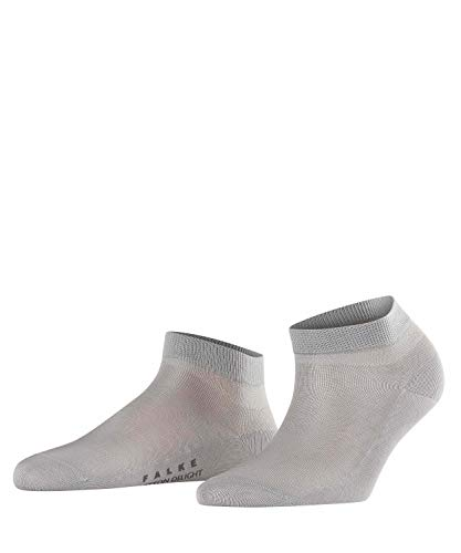 FALKE Cotton Delight Socquettes Femme NA Gris (Silver 3290) 37/38 (Taille fabricant: 37-38)