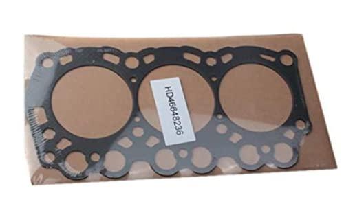 Cylinder Head Gasket 16871-03310 1687103310 for Kubota B7300HSD B7400HSD BX1800D BX1830D K-008 GF1800 G1900 ZD18 ZD21