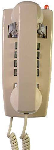 Teléfono Teléfono Inicio Antiguo Teléfono Montado de Pared Retro, Teléfono con cable Lanzamiento de Moda Teléfono Teléfono Teléfono Para Hogar Cocina Hotel Línea fija (Color: Rojo) ( Color : Bee )