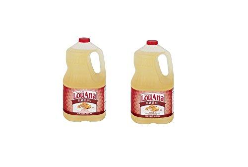 LouAna Peanut Oil, 128.0 FL OZ (Pack of 2)