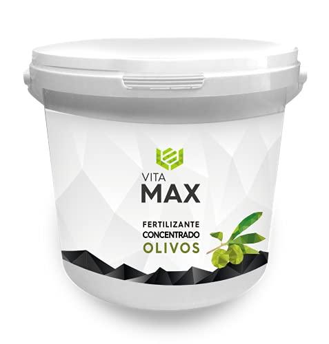 VITAMAX | VITAMAX OLIVOS | Fertilizante para Olivos | Residuo Cero | Abono NPK granulado con Boro 5kg