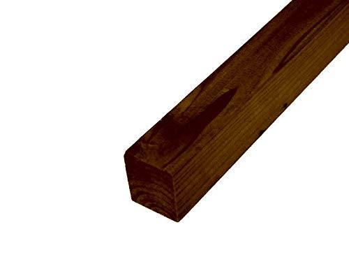 WOODPRO DIY素材 国産杉(新材)棒状材 厚36×幅40×長さ1000mm マロン色(屋内専用)