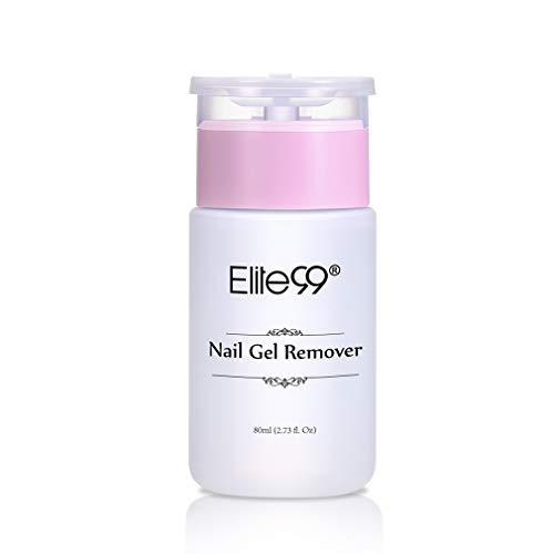 Elite99 Remover voor gellak, nagellakremover, Soak Off LED UV nagellak, nagellakremover 80ml
