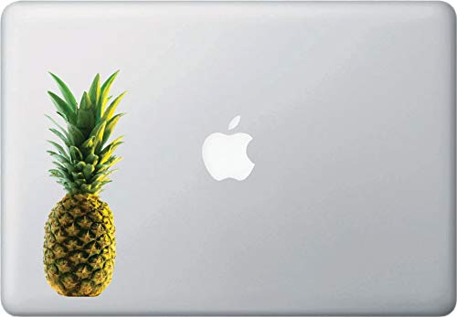 Realistic Pineapple, Vinyl Laptop Macbook Trackpad Tablet Decal, (Size Choices)