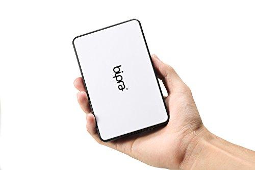 Bipra White Tool Free 2.5' Sata To USB 3.0 Hard Drive Caddy HDD Enclosure...