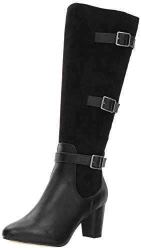 Bella Vita Women's Talina Ii Plus Harness Boot, Black, 5 M US
