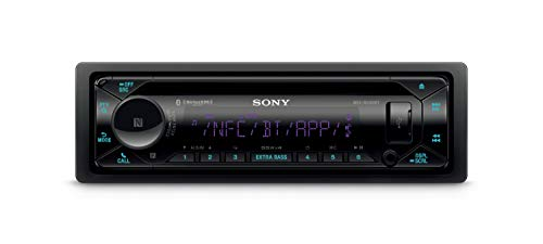Sony MEX-N5300BT Car Stereo Single Din Radio with Bluetooth, CD Player, USB/AUX
