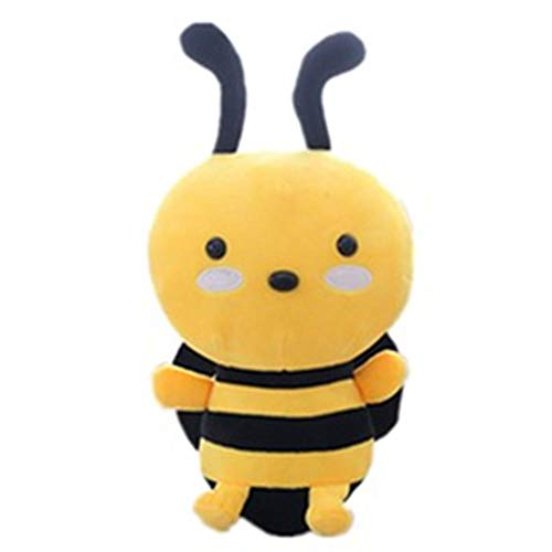 NIANMEI Cute Bee Plush Toy Cute Bee with Wings Plush Doll Doll Cute Children's Toy Calma Regalo de cumpleaños 20cm