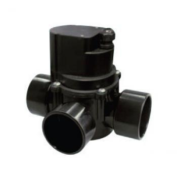 XCLEAR Automatique 3 Voies Roue Robinet 63 mm Noir 21 x 21 x 16 cm Noir