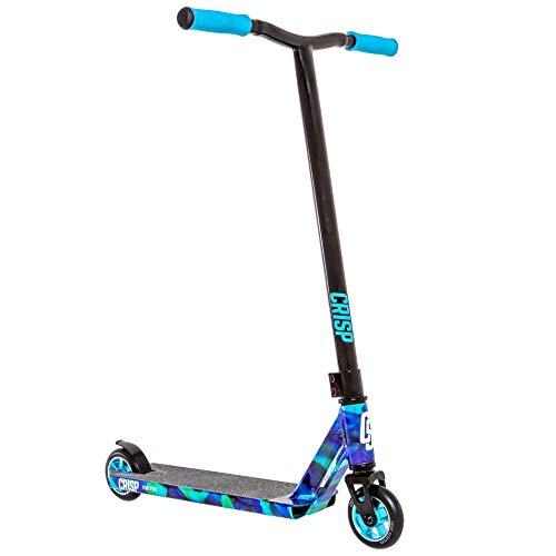 Crisp Switch Neo Chrome Pro Scooter (Blue Swirl)