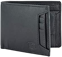 Flying Fossil Genuine Leather Hand-Crafted Wallet For Men, Bifold Leather Wallet